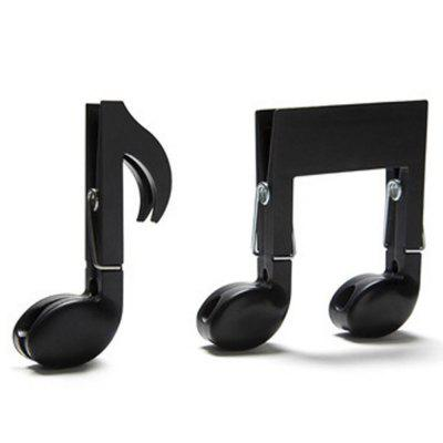 Portable Multifunction Music Note Style Shape Small Clip