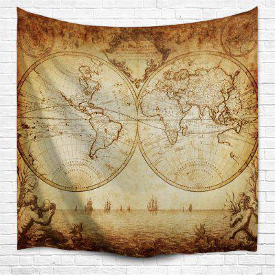 World Map 3D Printing Home Wall Hanging Tapestry for Decoration