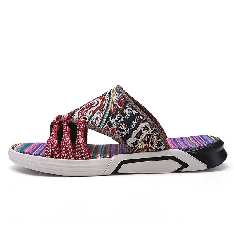National Totem Graffiti Casual Men's Slippers
