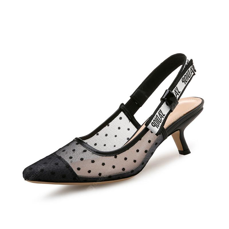 VICONE Women Spring/Autumn Casual Pointed Toe Elegant High Heel