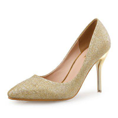 VICONE Women Spring Summer Bling Dress Wedding Classics High Heel