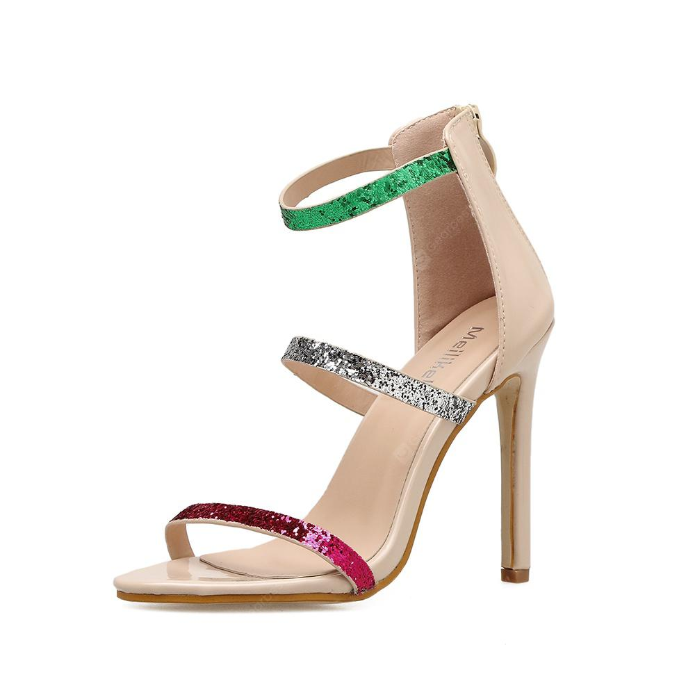 The New Stylish High-Heeled Sandals