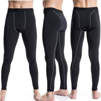Quick Dry Running Compression Training Fitness Tights Men Gym Sport Leggings
