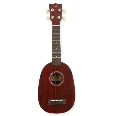 Pineapple Soprano Ukulele 21 inch Beginner Kit