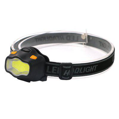 ZHISHUNJIA YH-6889 COB White + Red LED Dual Light Glare Headlight (3xAAA)