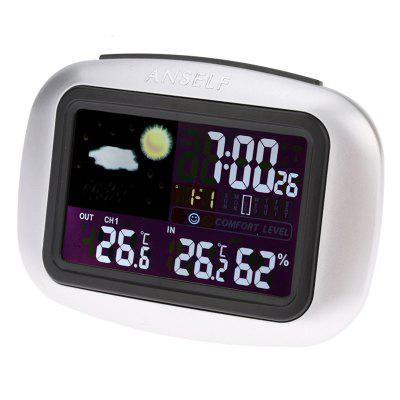 TS - 77 Indoor Outdoor Digital Wireless Weather Station Thermometer Hygrometer