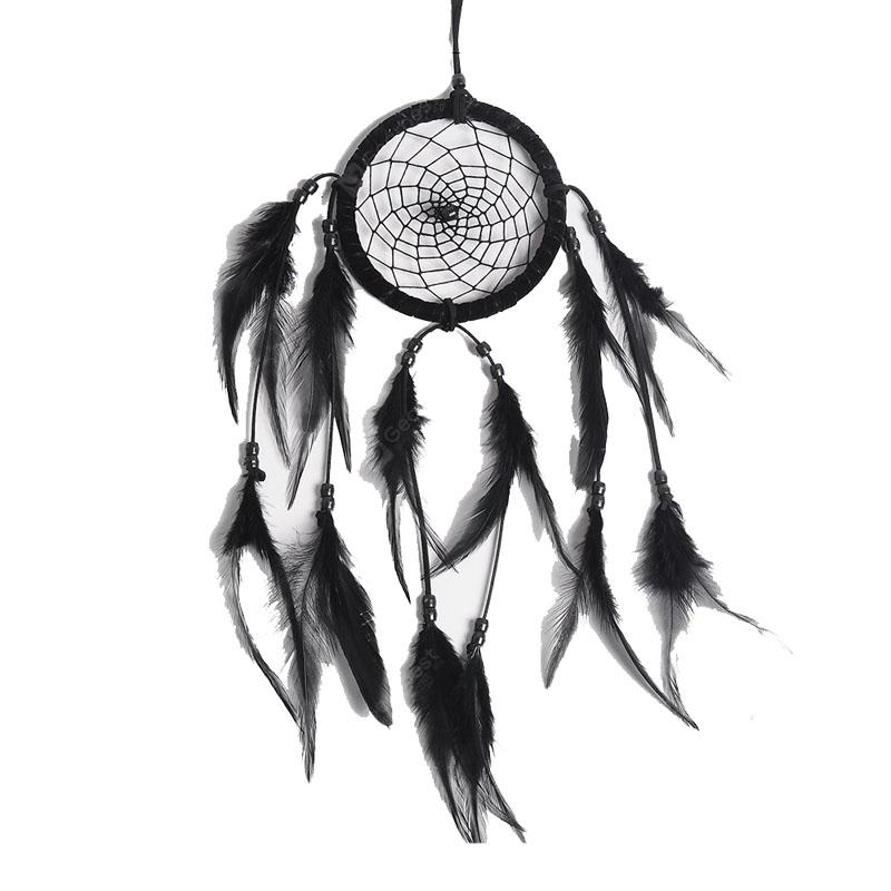Black and White Simple Dreamcatcher Handcraft Home Decoration Gift