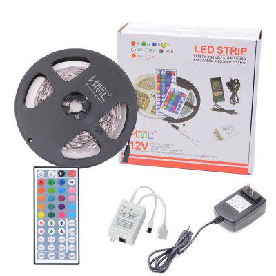 HML 5050 x300 RGB LED Lights Kit with 44key IR Remote Controller and US-plug