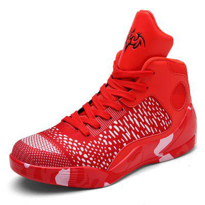 New High Men's Basketball Lovers Comfortable Sports Shoes
