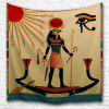 Egyptian Sun God 3D Printing Home Wall Hanging Tapestry for Decoration - MULTI-A