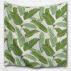 Banana Leaf 3D Printing Home Wall Hanging Tapestry for Decoration - MULTI-A