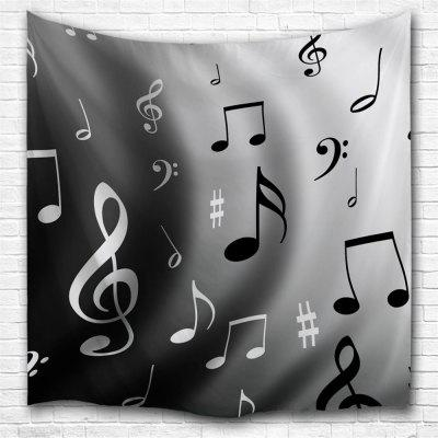 Wave Notes 3D Printing Home Wall Hanging Tapestry for Decoration