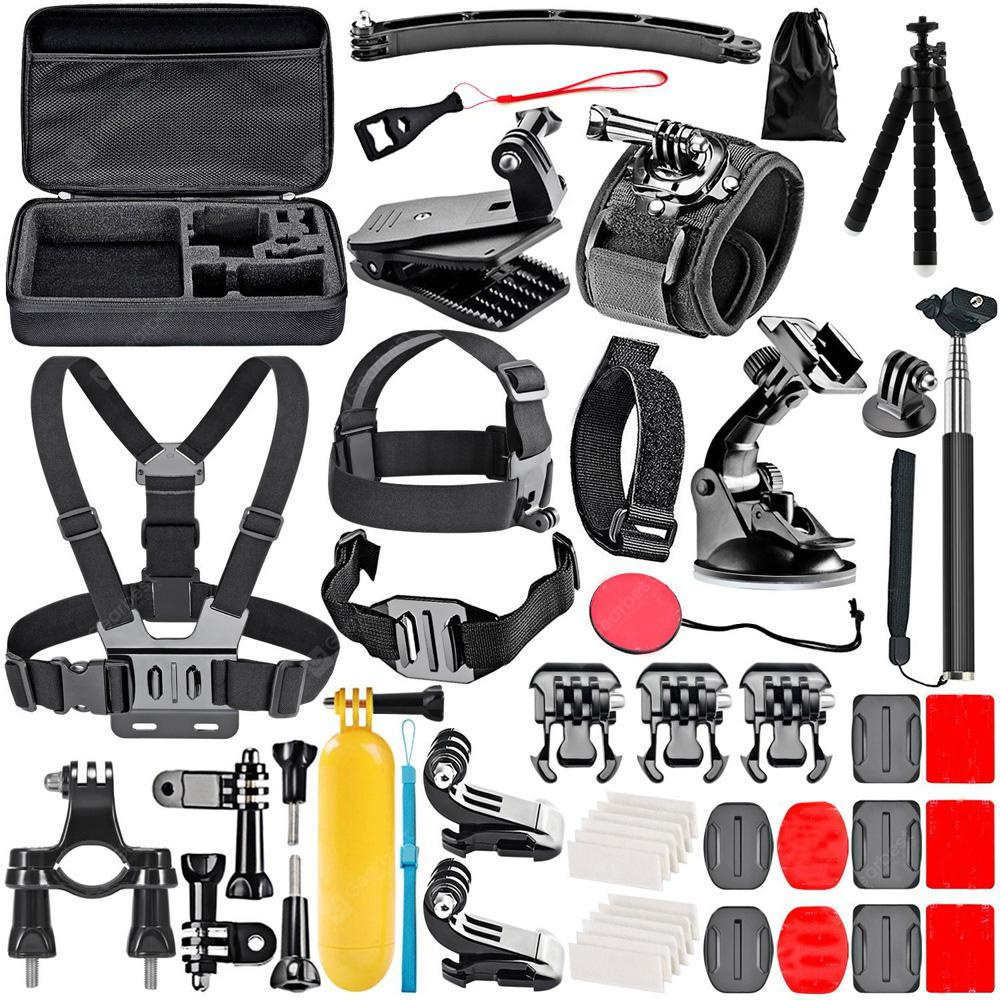 50-In-1 Action Camera Accessory Kit for GoPro Hero 6 / 5 / 4 / SJCAM / Xiaomi Yi