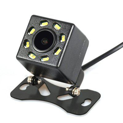 New Waterproof Car Rear View Camera 8 LED Light Wide View Angle Reverse Backup