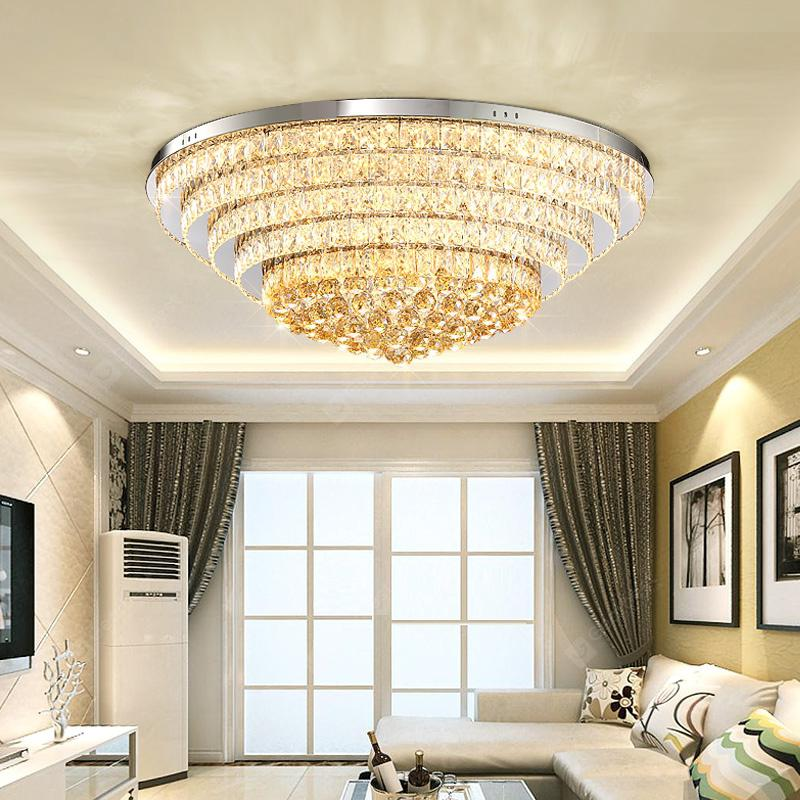 Djb65 personality creative circular three color switch crystal djb65 personality creative circular three color switch crystal ceiling light mozeypictures Image collections