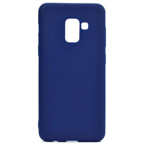 Case for Samsung Galaxy A8 2018 Plus Ultra-thin Back Cover Solid Color Soft TPU