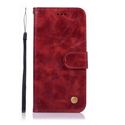 Fashion Flip Leather PU Wallet Cover For LG Q8 Case Phone Bag with Stand