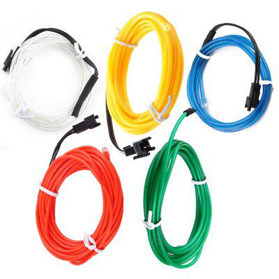5 in 1 250W 25000LM Super Lightness EL Wire Fit for Ford Fiesta Focus VW