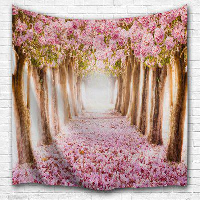 Fallen Flowers 3D Printing Home Wall Hanging Tapestry for Decoration