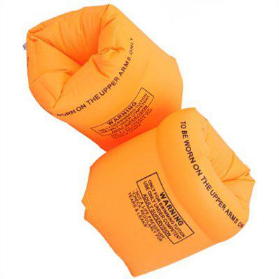 Thickening Swimming Armbands Double-Balloon Twirls Inflatable Float Ring