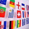 32 Strong Watermark Double-Sided Fade String Flags - MULTI