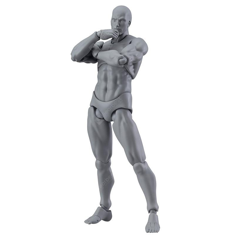 13cm Action Figure Doll Toy - GRAY