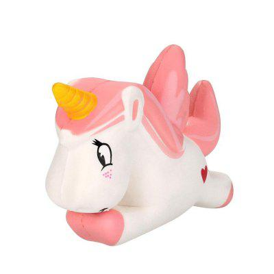 Unicornio Jumbo Squishy Slow Rising Cartoon Doll Squeeze Toy Collectibles