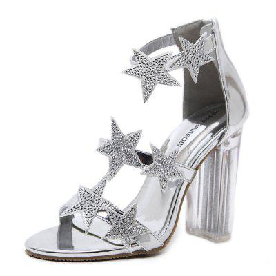 Crystal and Strappy Sandals