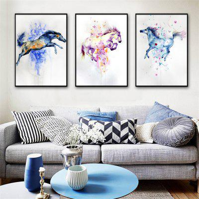 Special Design Frame Paintings Jump Print 3PCS