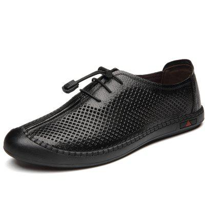 Fashion Men Comfy Casual Slip Leather Business Shoes