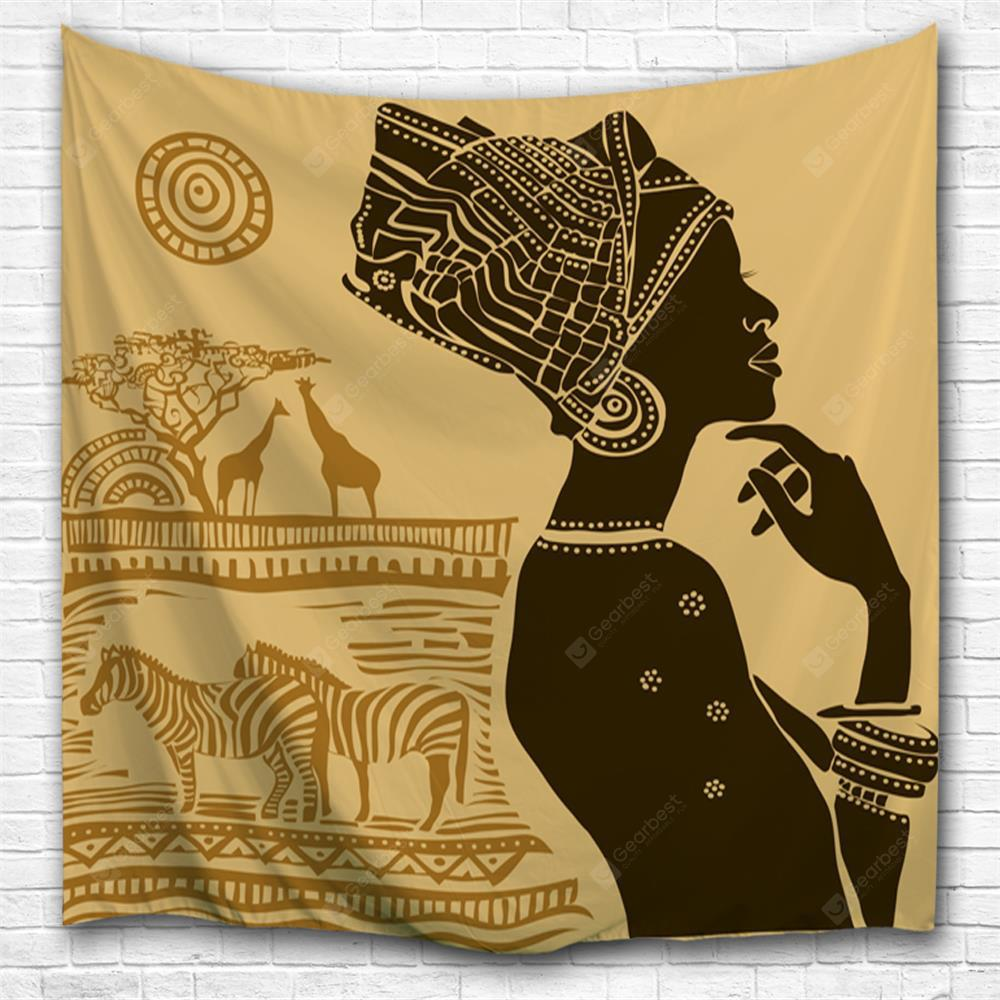 Thinker 3D Printing Home Wall Hanging Tapestry for Decoration