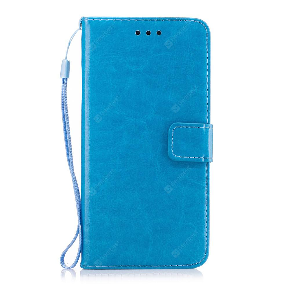 Case for Huawei P20  Fashion Pure Color Magnetic Flip Cover