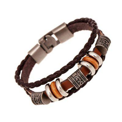 Couple Accessories Leather Bracelet Restore Ancient Ways