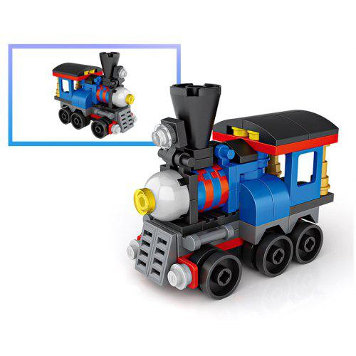 LOZ 74PCS Mini Train Blocks Toy