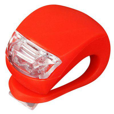 Bicicleta Head Front LED Light Camping Taillight Bike 2 PC