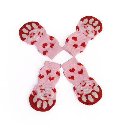 Pet Dog Shoe Cat Cotton Socks