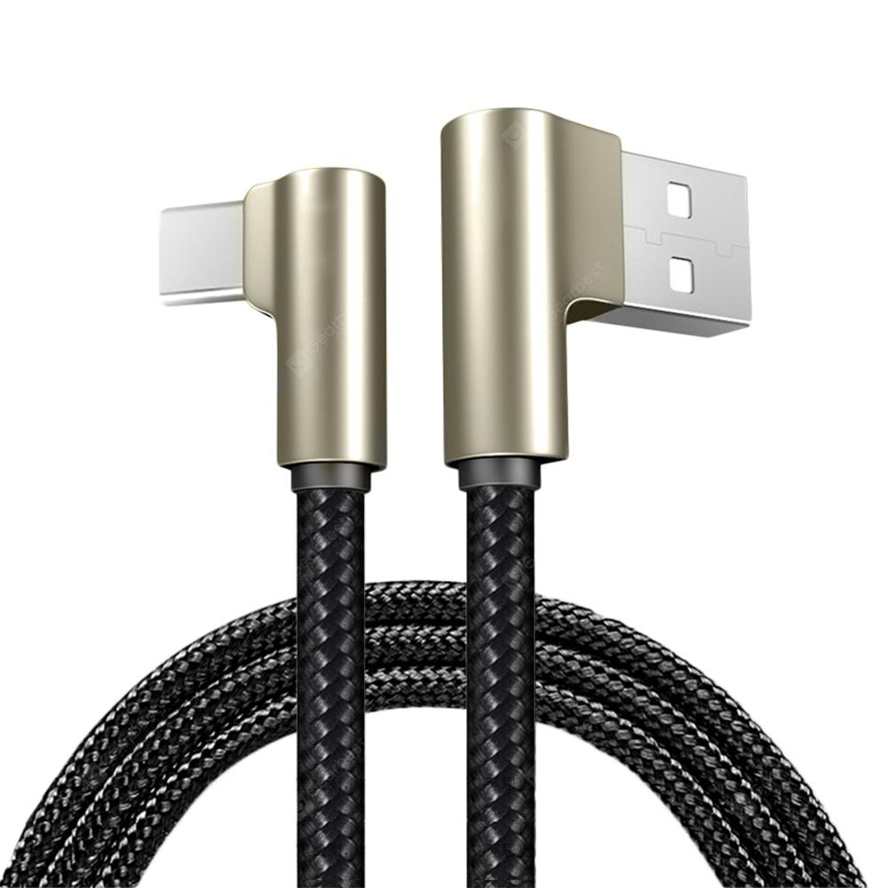 USB Type-C Nylon Weaving Fast Charging Data Sync Charger Cable for Xiaomi