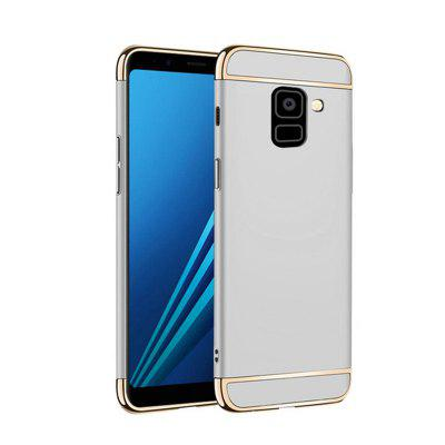 Funda para Samsung Galaxy A8 Plus 2018 Fundas Matte Fundas 3 en 1 Hard Back