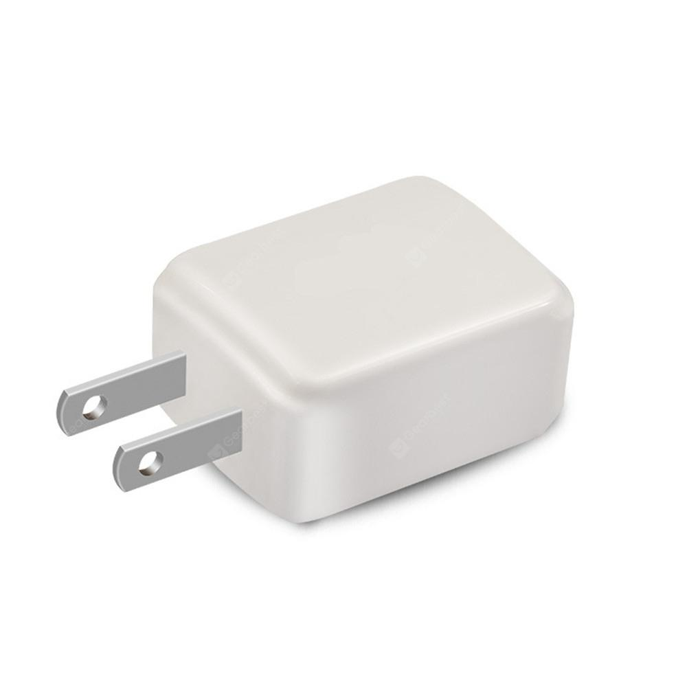 Mobile Charger 5V2.4A Dual USB Charging Head Adapter