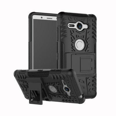 Kickstand Case for Sony Xperia XZ2 Compact TPU + PC Hard Cover