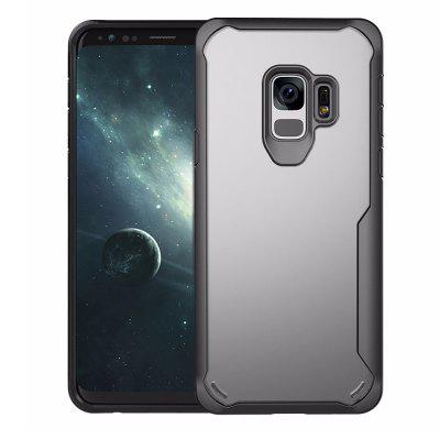 Full Protective TPU and Acrylic Transparent Case for Samsung Galaxy S9