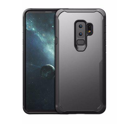 Full Protective TPU and Acrylic Transparent Case for Samsung Galaxy S9 Plus