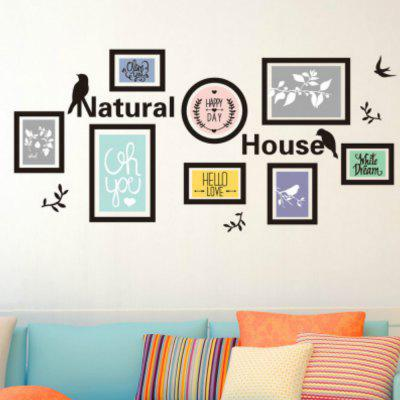 Simple Waterproof Picture Decoration Wall Stickers