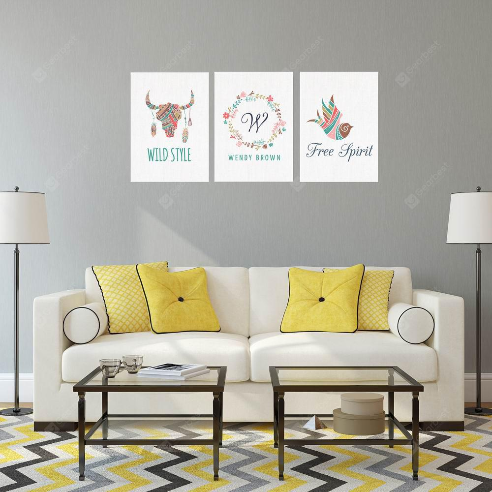 W182 Unique Picture Unframed Wall Art Canvas Prints for Home Decoration