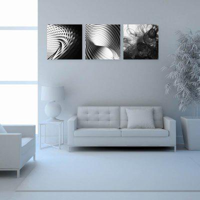 W194 Geometry Unframed Art Wall Canvas Prints for Home Decorations 3 PCS