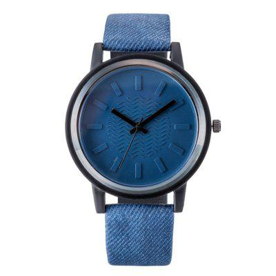 B0970 Fashion Minimalist Leather Dress Watch