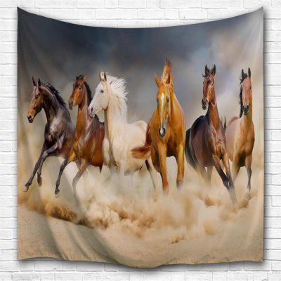 Pentium Horse 3D Printing Home Wall Hanging Tapestry for Decoration