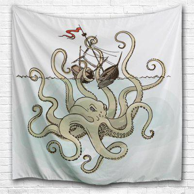 Octopus King 3D Printing Home Wall Hanging Tapestry for Decoration