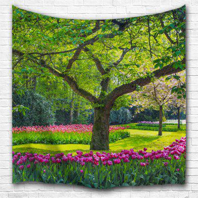Flowers and Trees 3D Printing Home Wall Hanging Tapestry for Decoration