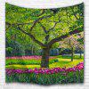Flowers and Trees 3D Printing Home Wall Hanging Tapestry for Decoration - MULTI-A